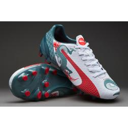 Puma evoSPEED 4.3 Graphic FG JR /детские бутсы
