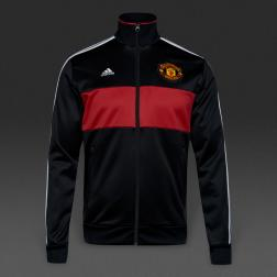 adidas Manchester United 16/17 3 Stripe Track Top  /ветровка