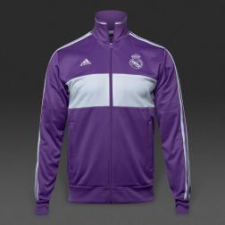 adidas Real Madrid 16/17 3 Stripe Track Top