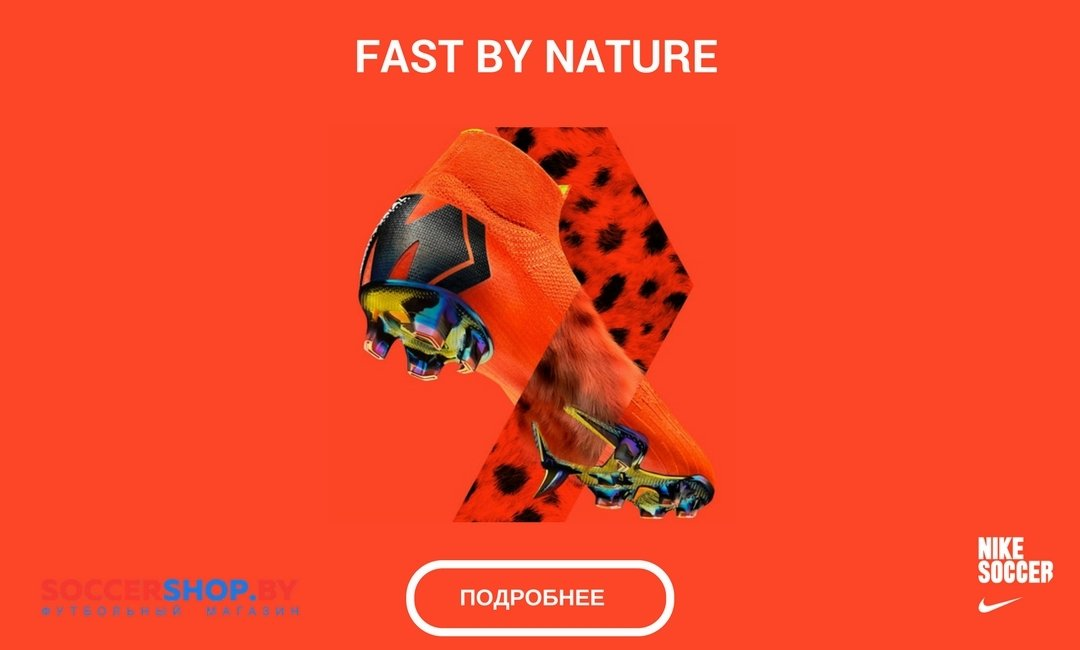 NIKE  FAST BY NATURE